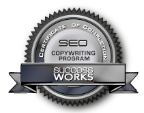 SEO Copywriting Certificate through Success Works